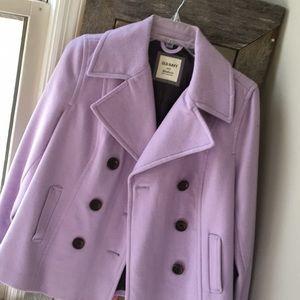 Light purple peacoat *NEVER WORN!*